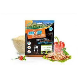 Żywność liofilizowana  hiszpańska paella z kurczakiem wyprodukowany przez Mx3 aventure