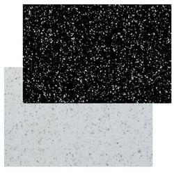 Panel przyblatowy laminowany GoodHome Berberis 0,3 x 60 x 200 cm black / white star (3663602637127)