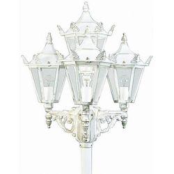 Albert 2056 latarnia masztowa Biały, Złoty, 4-punktowe - Dworek/Klasyczny - Obszar zewnętrzny - 2056 - Czas