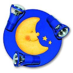 WALDI Lampa na sufit Laluna kolor ciemnoniebieski (4003028303616)