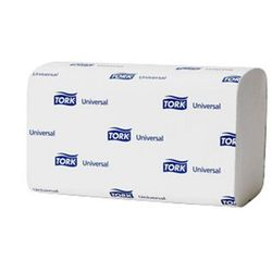 Ręcznik papierowy ZZ TORK UNIVERSAL H3 BIAŁY jednostka sprzedaży: jedna paczka (300 listków) - X05564