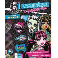 Łamigłówki z pazurem Monster High. (48 str.)