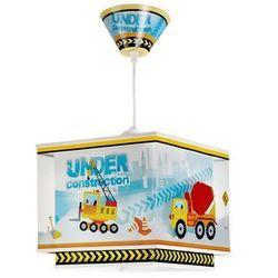 Dalber Klik 63612 - dziecięca lampa wisząca constructor 1xe27/60w/230v