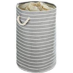 Okrągły kosz na pranie MARTIM - pojemnik 75 l, WENKO (4008838355039)