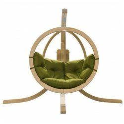 Pistacjowy fotel jajo - parys 2x marki Producent: elior
