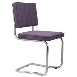 Zuiver Krzesło RIDGE KINK RIB purpurowe 15A 1100062