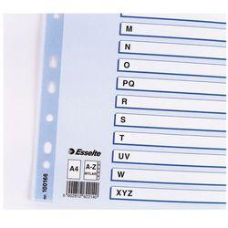 Przekładki ESSELTE kart. mylar A4 A-Z 100166 (5902812622140)