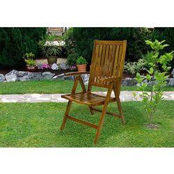 Krzesło ogrodowe z drewna akacjowego