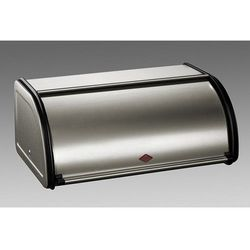 Wesco - pojemnik na pieczywo classic 43 cm - srebrny - srebrny