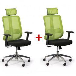 B2b partner Krzesło biurowe cross 1 + 1 gratis, zielony