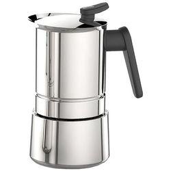 Pedrini Steel Moka 4 tz stalowa kawiarka ciśnieniowa na indukcję