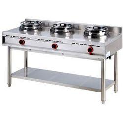 Kuchnia gazowa wok 3-palnikowa K-3 G REDFOX 00007353