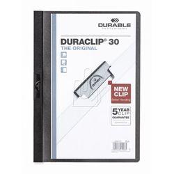 Durable Skoroszyt zaciskowy duraclip 30 kartek 5 szt. czarny 222701 (4005546205137)