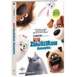 Sekretne życie zwierzaków domowych. Książka + DVD z kategorii Filmy animowane
