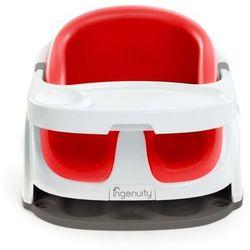 Ingenuity krzesełko niemowlęce baby base 2w1, makowa czerwień, k10868 (0074451108684)
