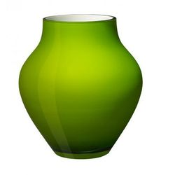 Villeroy & boch - oronda wazon zielony wysokość: 21 cm