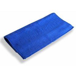 niebieski ręcznik do fitnessu marki Gymbeam