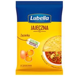 Lubella 250g makaron zacierka domowa jajeczna