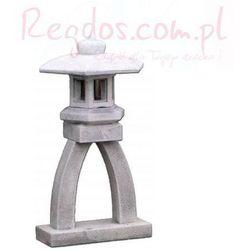 Lampa betonowa ogrodowa, lampa z nóżką 75cm