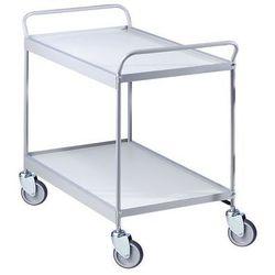 Wózek serwisowy,pow. ładunkowa 785 x 545 mm, nośność 150 kg marki Unbekannt