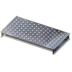 Stół kulowy, wys. konstrukcji 110 mm, szer. przenośnika 900 mm, dł. 500 mm, podz marki Gura fördertechnik