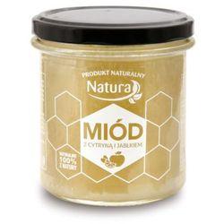 PoBioEco Miód z Cytryną i Jabłkiem 450ml z kategorii Miody