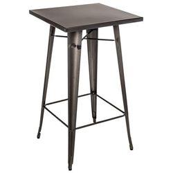 D2.design Stół barowy paris metaliczny (5902385707138)