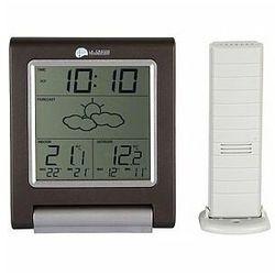 - stacja pogodowa z zewnętrznym czujnikiem temperatury marki La crosse
