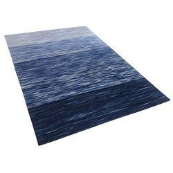 Dywan niebieski 160 x 230 cm krótkowłosy kapakli marki Beliani