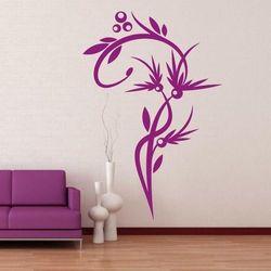 Wally - piękno dekoracji Szablon malarski kwiat 1230