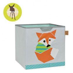 Lassig  pudełko na zabawki little tree lis