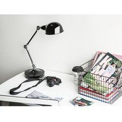 Lampa biurkowa nocna metal regulowana czarna CABRIS