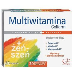 MULTIWITAMINA COLFARM * 30 TABL.