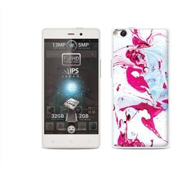 Etuo.pl Fantastic case - allview x1 soul - etui na telefon fantastic case - różowy marmur