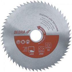 Tarcza do cięcia DEDRA HS40080 400 x 30 mm do drewna stalowa, kup u jednego z partnerów