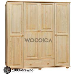 Woodica 12.szafa 4d1s 176x190x60