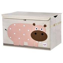 3 Sprouts, Hipopotam, pudełko zamykane - produkt z kategorii- Regały i półki