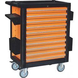 Corona montażowy wózek na narzędzia, 10 szuflad, 386szt. (c1276)