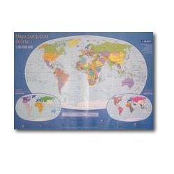 Europa mapa fizyczna i polityczna 1:15 000 000 (mapa szkolna) od SELKAR