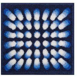Grund dywanik łazienkowy karim 07, niebieski, 60x60 cm