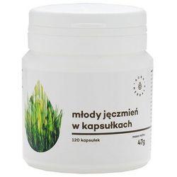 Młody Jęczmień Naturalny 120 kaps. (artykuł z kategorii Tabletki na odchudzanie)