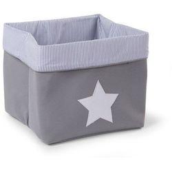 Pudełko płócienne szare 32x32x29 Childhome (5420007136994)