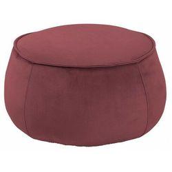 Okrągła czerwona pufa siedzisko - Arktos 3X, kolor czerwony