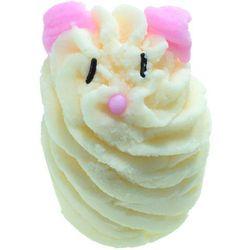 white chocolate mouse - kremowa babeczka do kąpieli wyprodukowany przez Bomb cosmetics