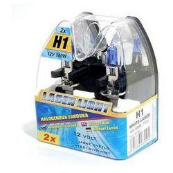Auto żarówka Compass 12 V H1 100W WHITE LASER 2 szt, kup u jednego z partnerów