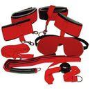 Bad kitty bondage set red zestaw do krępowania niewolnika czerwony marki You2toys