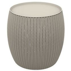 Keter knit single table (cozies) stolik - piaskowy (7290106932197)