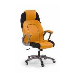 Halmar Fotel viper pomarańczowo-czarny - zadzwoń i złap rabat do -10%! telefon: 601-892-200