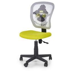 Młodzieżowy fotel obrotowy JUMP zielony MOPS Halmar