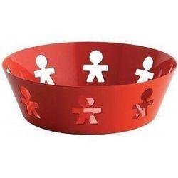 Alessi Kosz okrągły ze stali nierdzewnej czerwony, mały (AKK03 O) Darmowy odbiór w 21 miastach! (8003299963348)